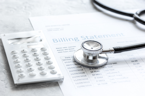 health care costs billing statement
