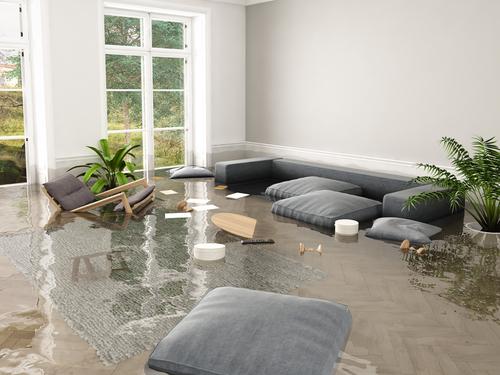 flood in apartment
