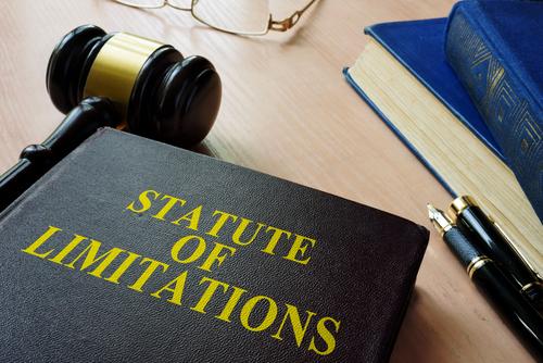 statute of limitations on court desk